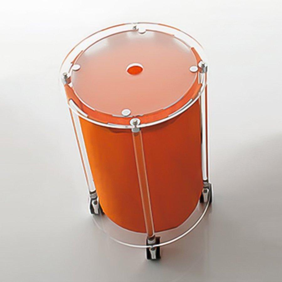 Nameeks 24.4-in Complementi Orange Utility Cart