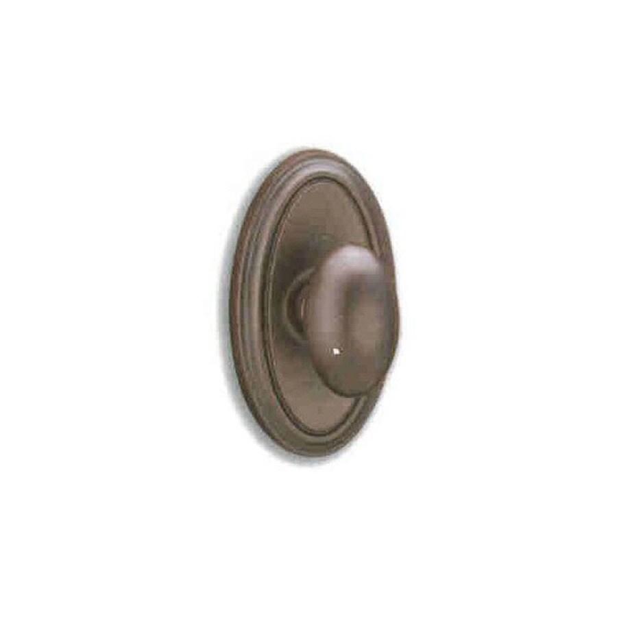 Shop Double Hill Bronze Dark Bronze Dummy Door Knob At