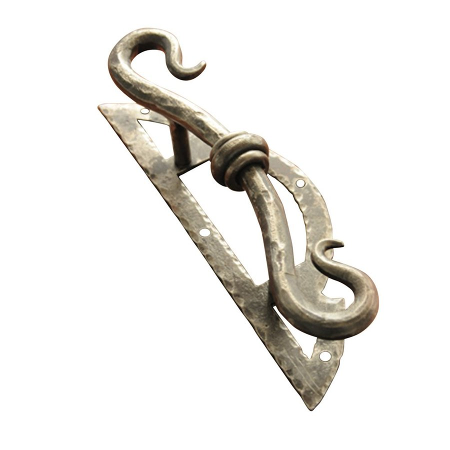 Artesano Iron Works 3-1/4-in Center-to-Center Natural Iron Bar Cabinet Pull