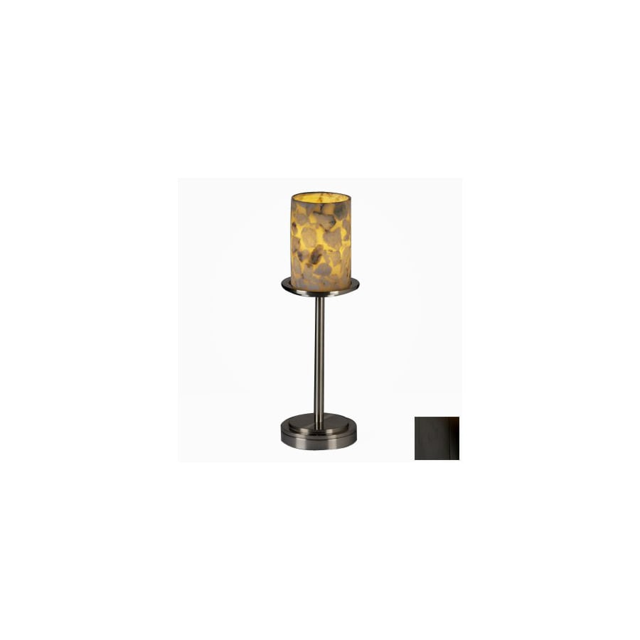 Cascadia Lighting 3-Way Matte Black Touch Table Lamp with Shade