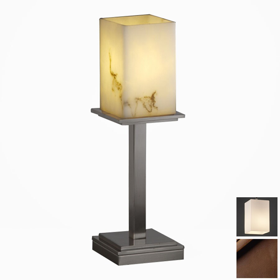 Cascadia Lighting 3-Way Dark Bronze Touch Table Lamp with Shade