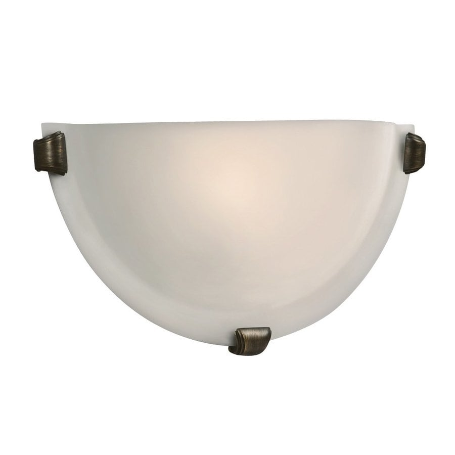 Galaxy 12.12-in W 1-Light Oil-Rubbed Bronze Pocket Wall Sconce