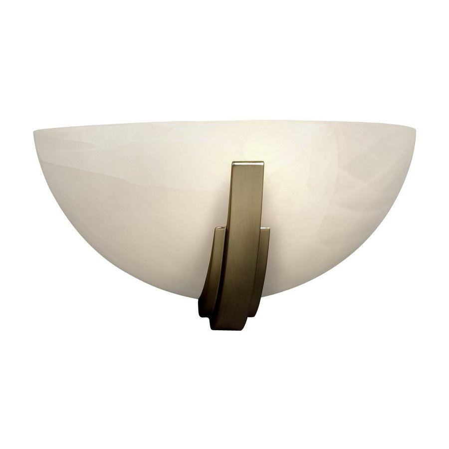 Galaxy 13.75-in W 1-Light Pewter Pocket Wall Sconce