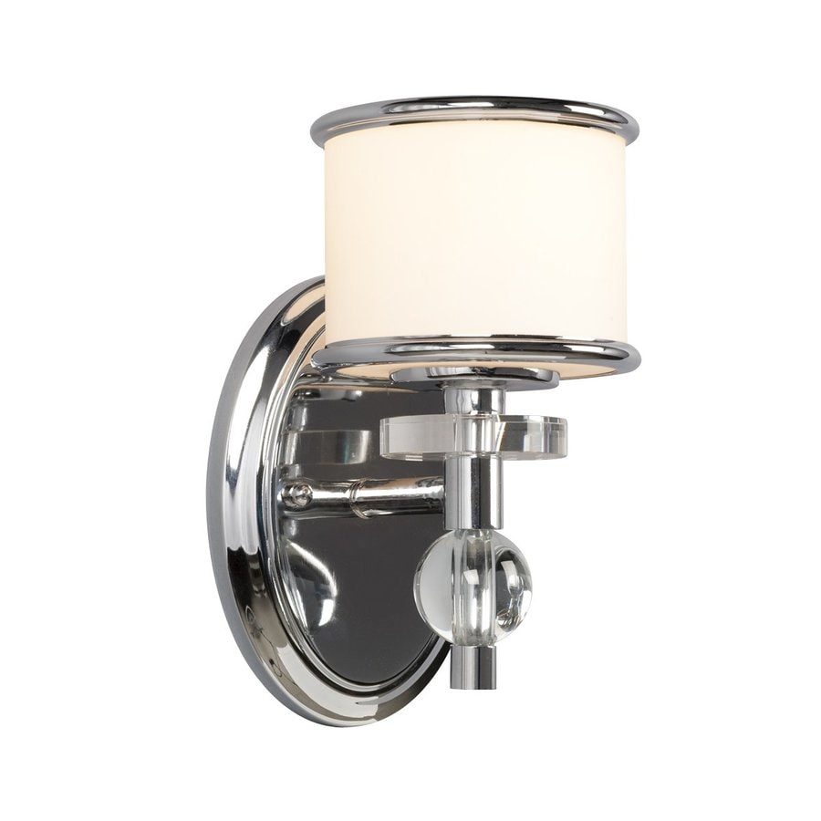 Galaxy Hilton 5.43-in W 1-Light Chrome Arm Wall Sconce
