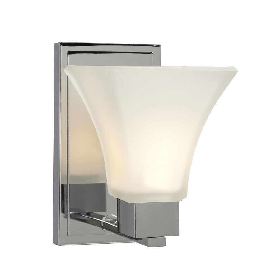 Galaxy Sutton 5.5-in W 1-Light Chrome Arm Wall Sconce