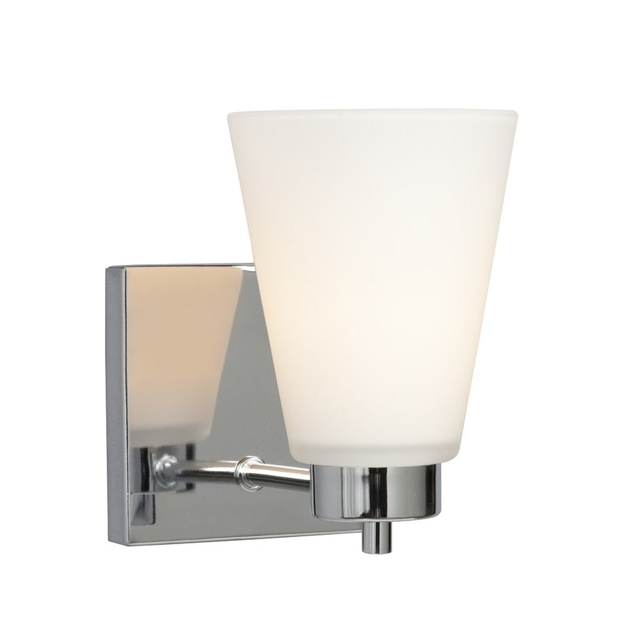 Galaxy Kent 4.5-in W 1-Light Chrome Arm Hardwired Wall Sconce