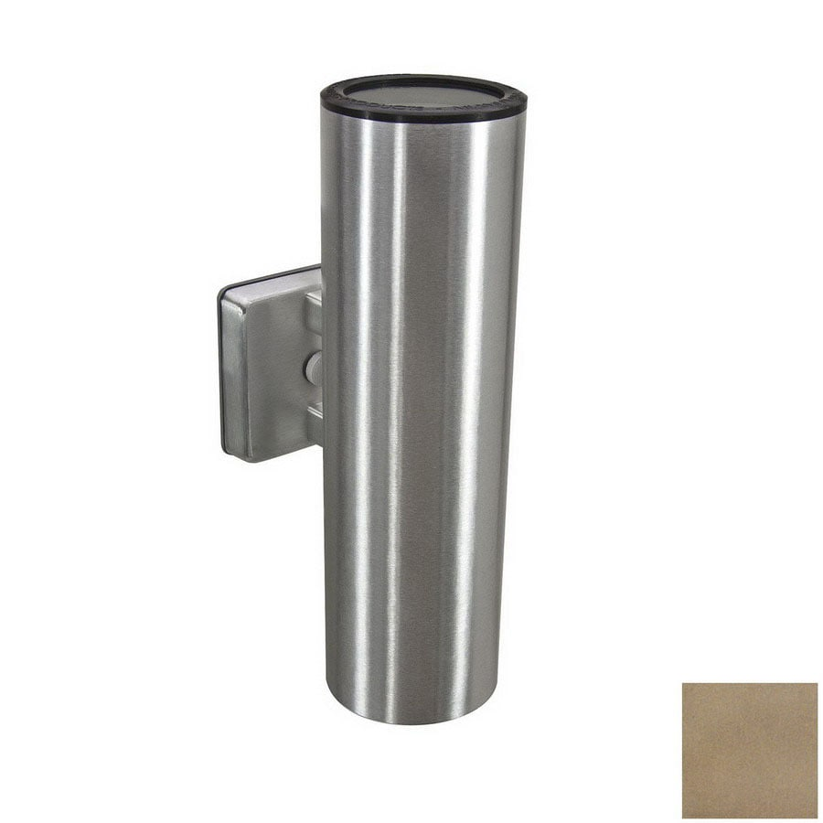Remcraft Lighting Retro 14-in H Satin Aluminum Dark Sky Medium Base (E-26) Outdoor Wall Light