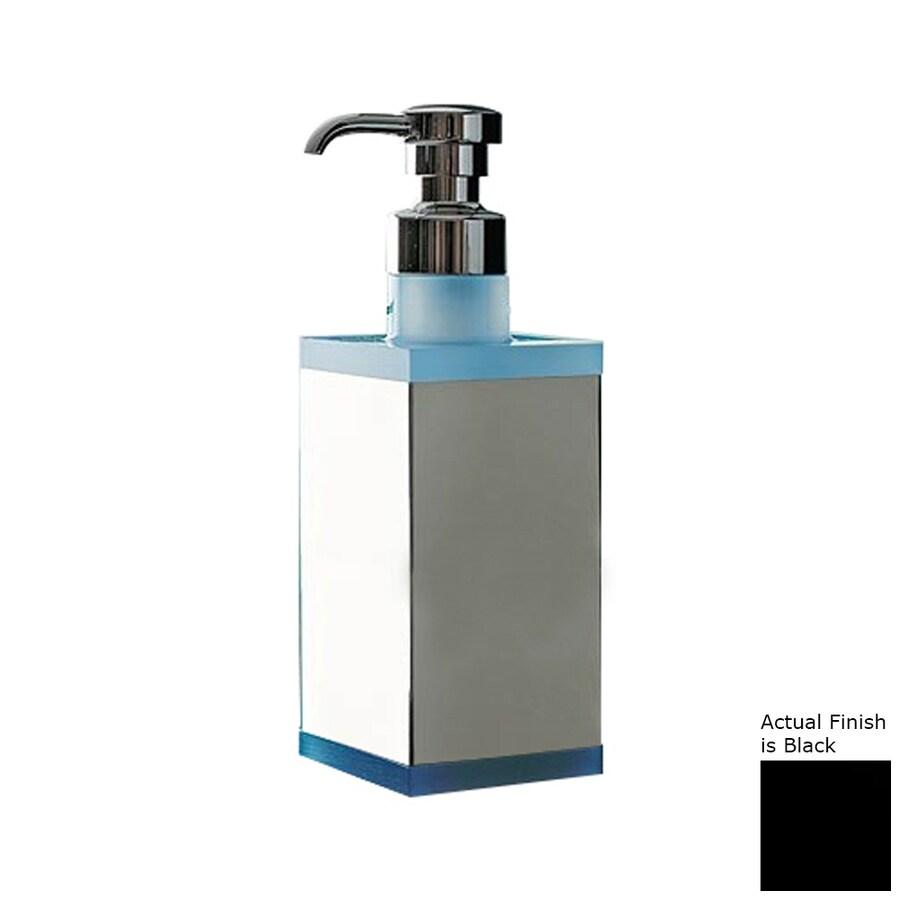 Nameeks Eden Chrome/Black Soap and Lotion Dispenser