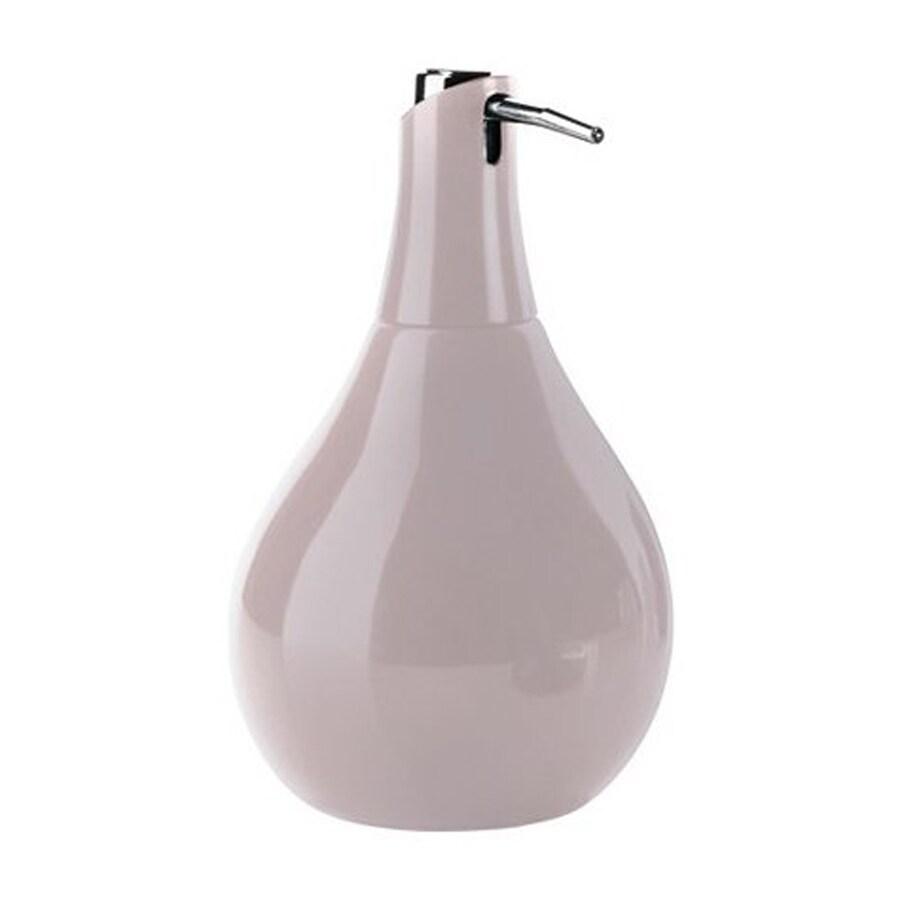 Nameeks Azalea Chrome/Lavender Soap and Lotion Dispenser