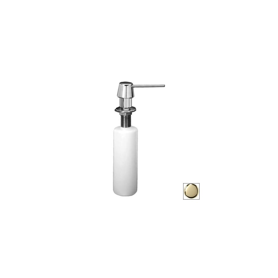 Westbrass Soap Dispensers Polished Brass Soap and Lotion Dispenser