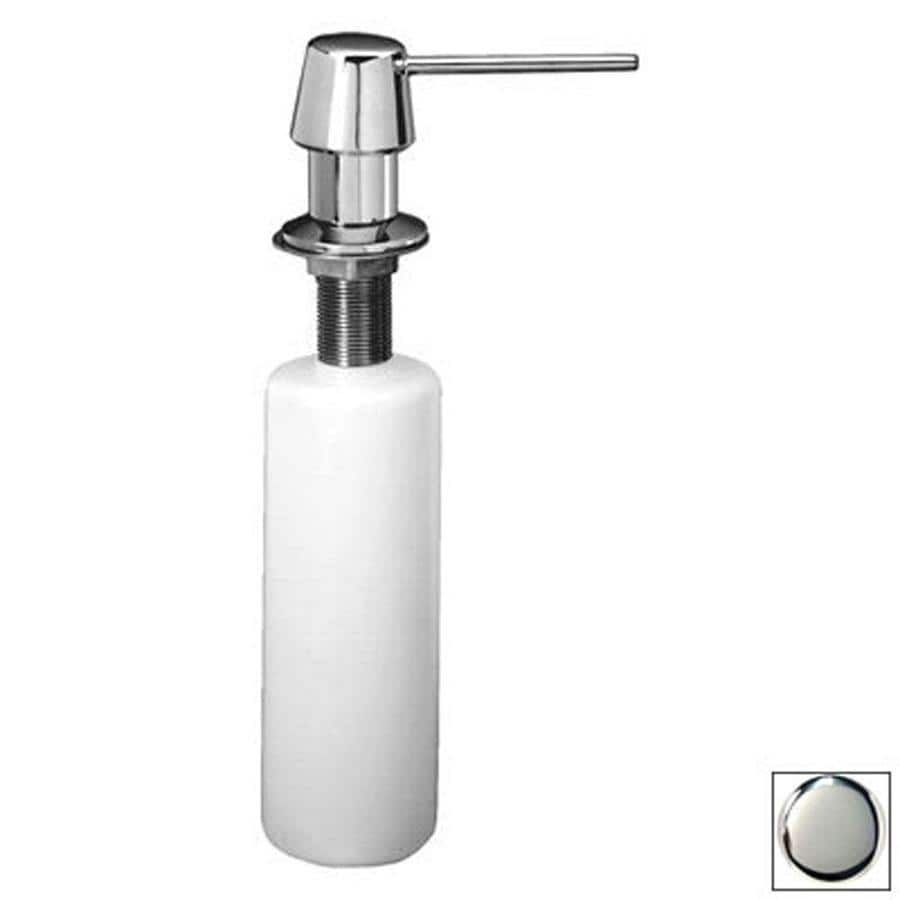 Westbrass Soap Dispensers Polished Chrome Soap and Lotion Dispenser
