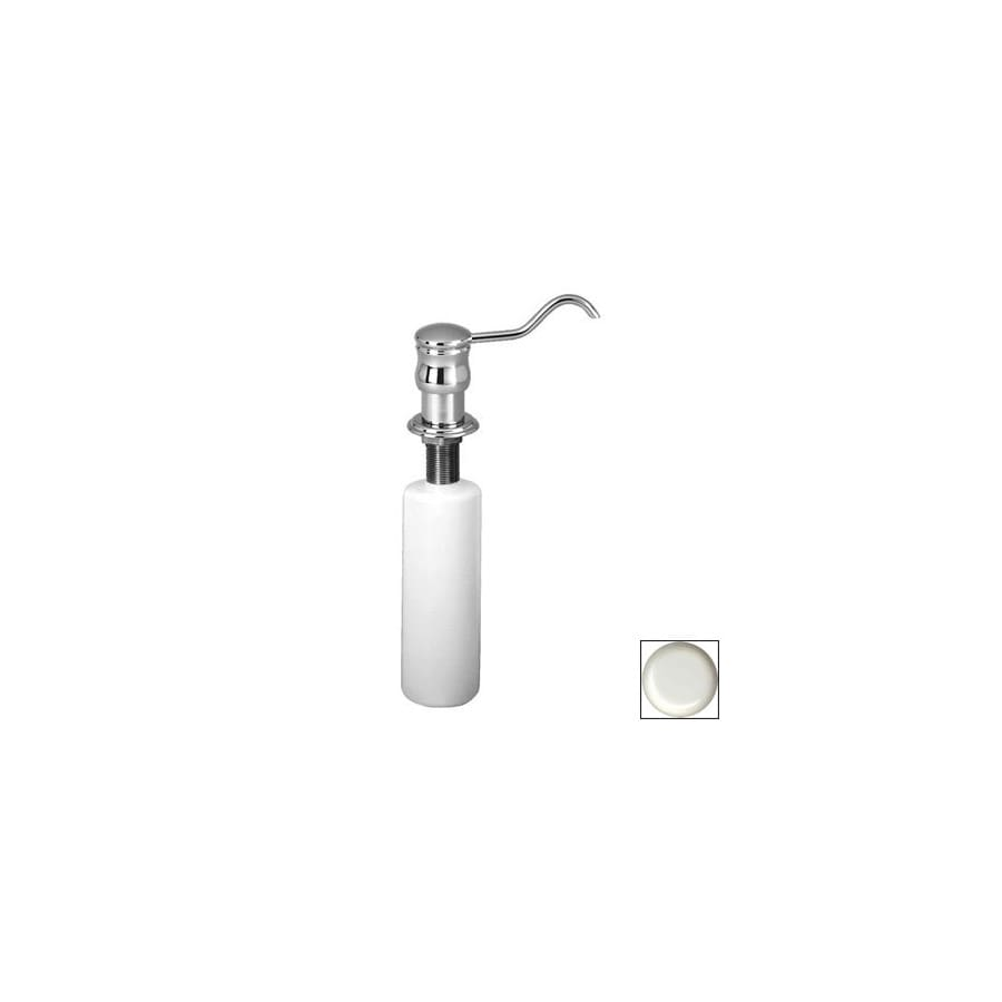 Westbrass Soap Dispensers Powder Coated White Soap and Lotion Dispenser