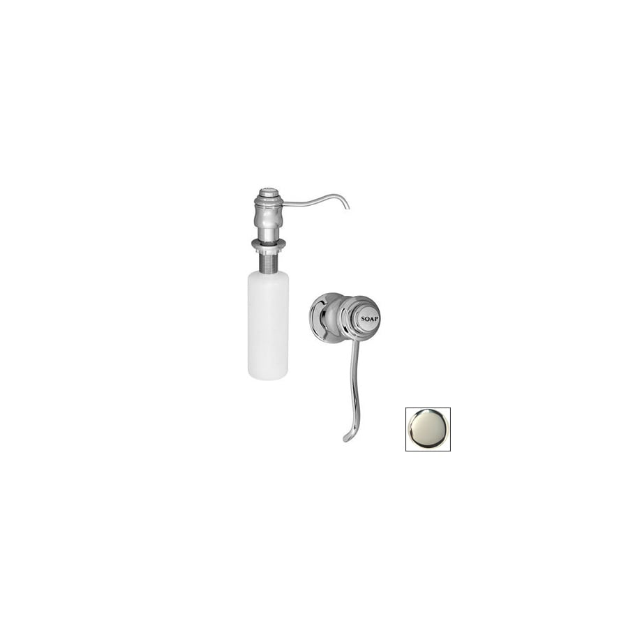 Westbrass Soap Dispensers Polished Nickel Soap and Lotion Dispenser
