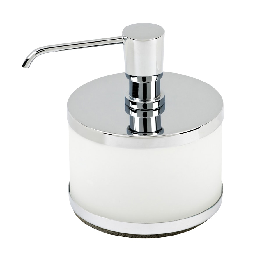 Topex Hardware Polished Chrome Soap and Lotion Dispenser
