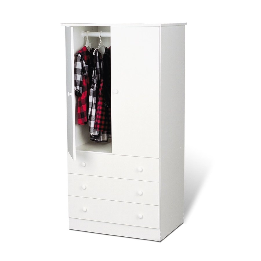 Shop Prepac Furniture Edenvale White Armoire At Lowes.com