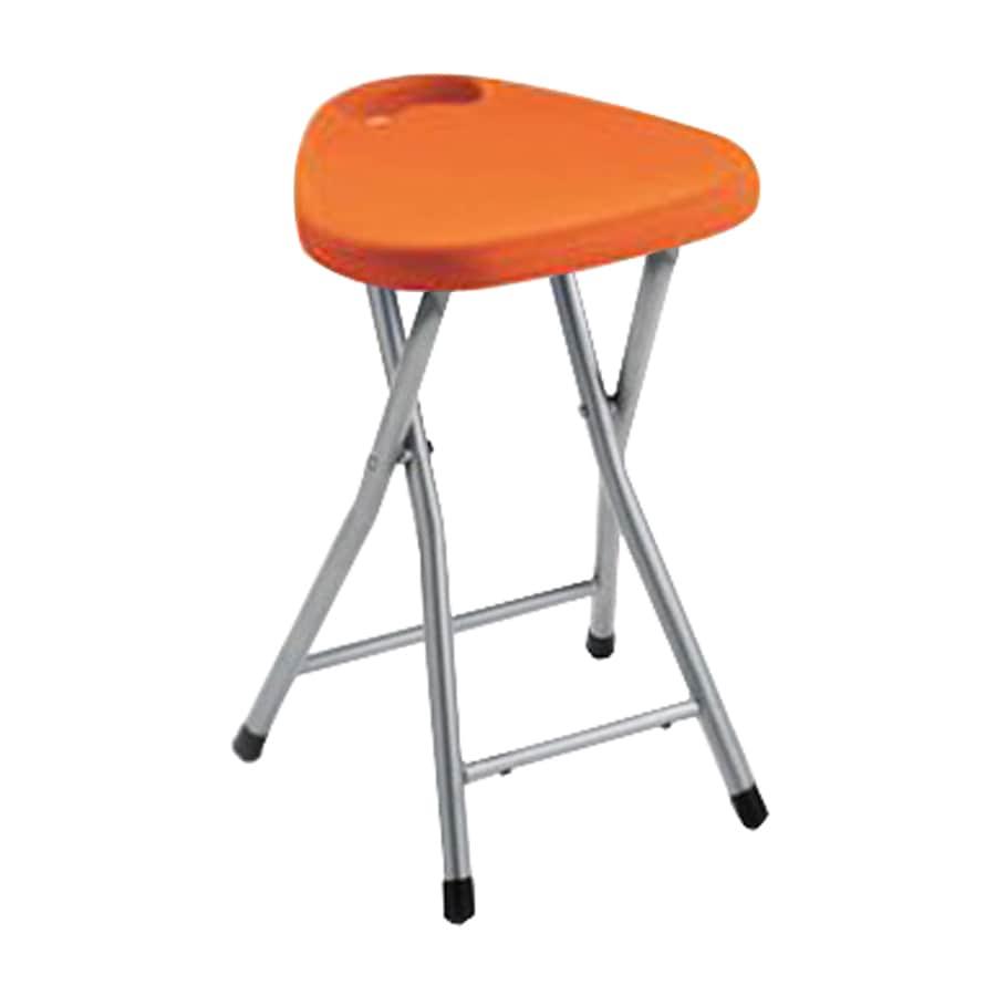 Nameeks Orange 18.3071-in Small Stool