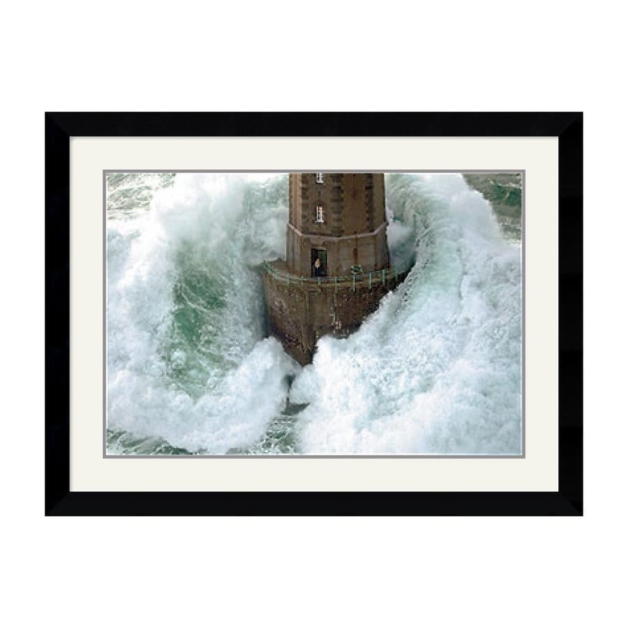 Amanti Art 35.62-in W x 26.74-in H Framed Wood Photography Prints Wall Art