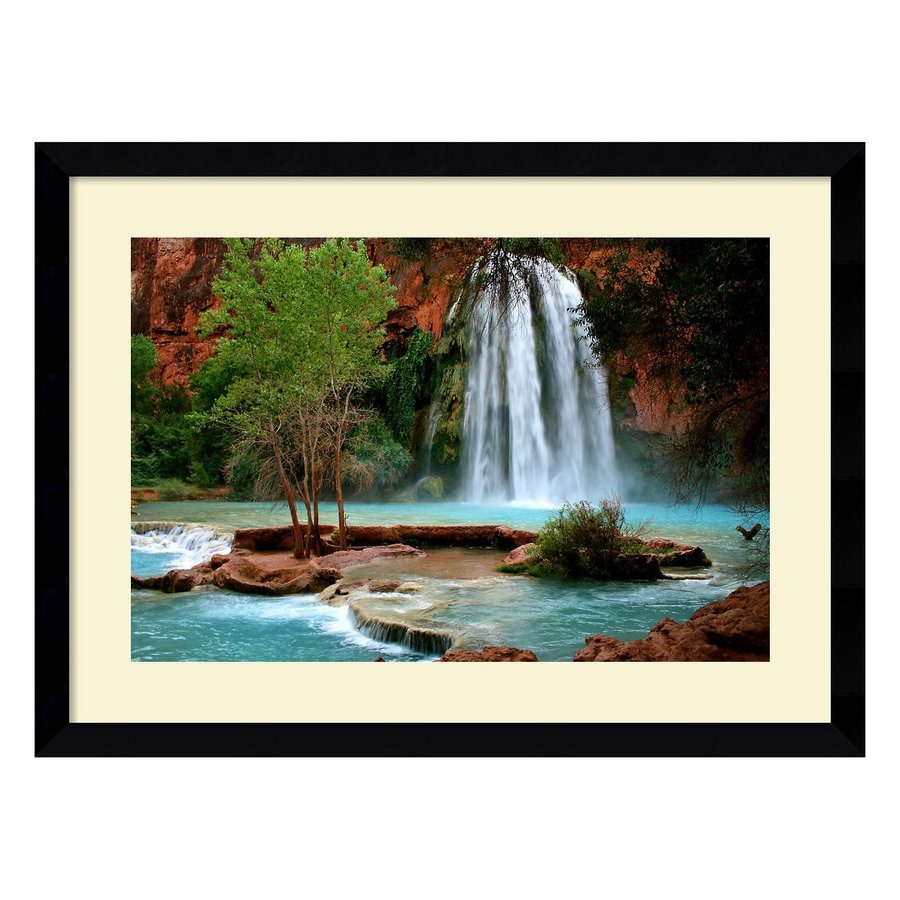 Amanti Art 38.62-in W x 28.62-in H Framed Paper Photography Prints Wall Art