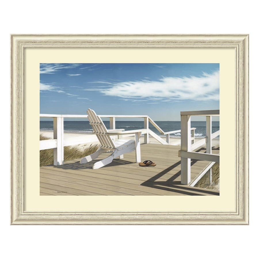 Amanti Art 42.13-in W x 33.88-in H Framed Wood Photography Prints Wall Art