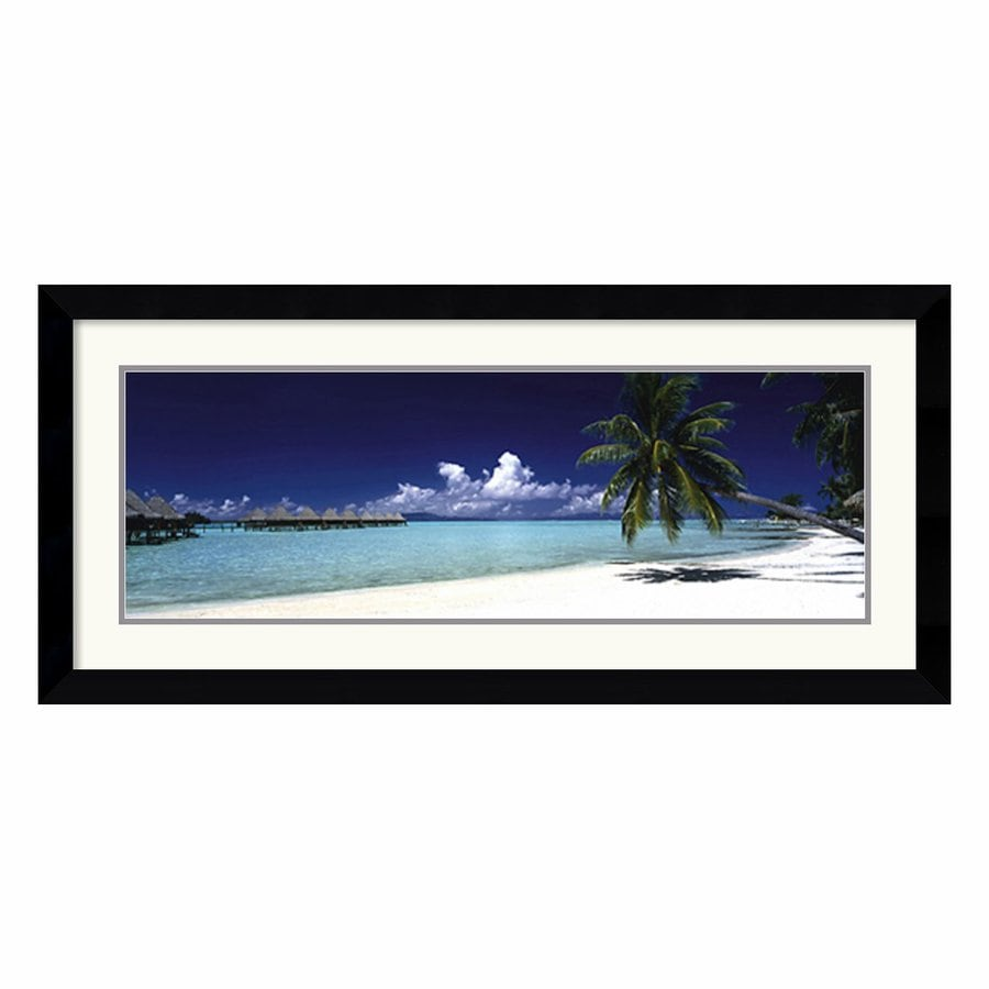Amanti Art 42.62-in W x 19.62-in H Framed Wood Photography Prints Wall Art