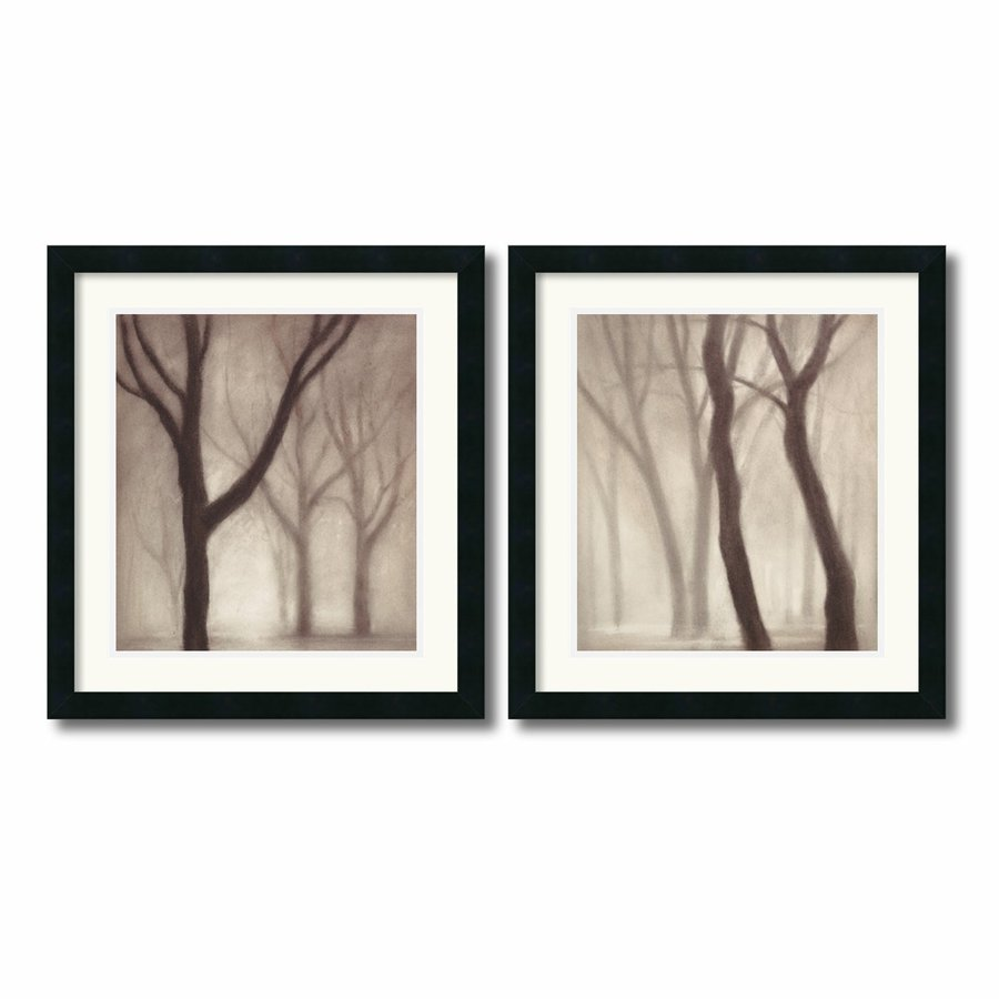 Amanti Art 2-Piece 20-in W x 21.62-in H Framed Paper Photography Prints Wall Art