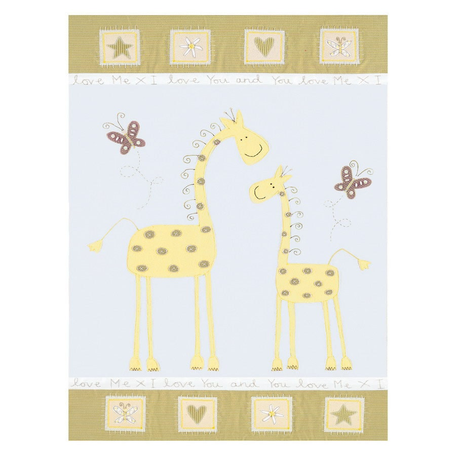 Shop Art 4 Kids 18-in W x 24-in H Animals Framed Wall Art at Lowes.com