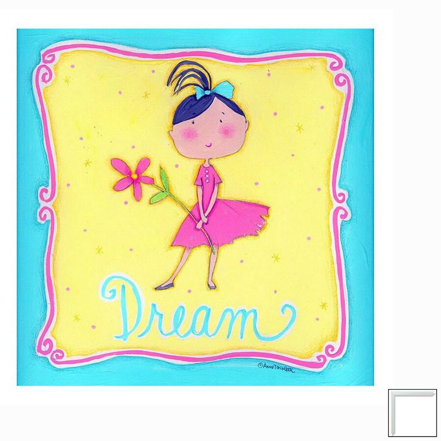 Art 4 Kids 12-in W x 12-in H Inspiration Framed Wall Art