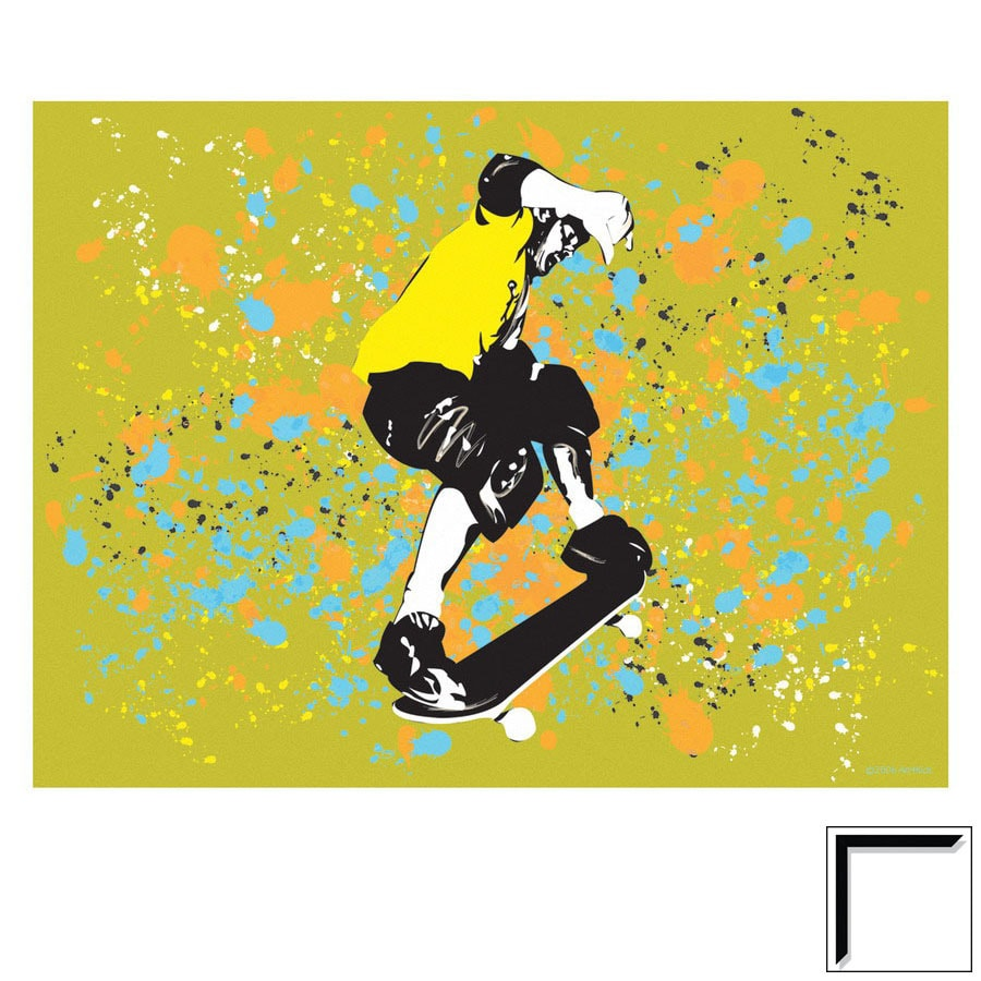Shop Art 4 Kids 24-in W x 18-in H Sports and Recreation Framed Art ...