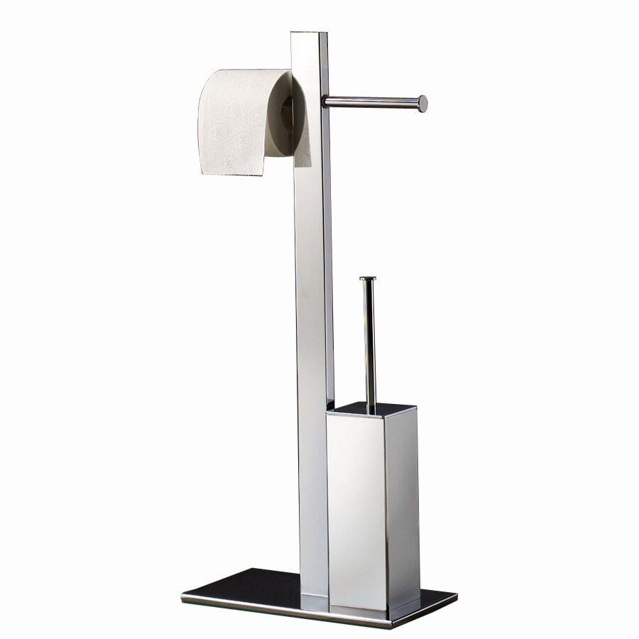 Gentil Nameeks Gedy Chrome Freestanding Floor Toilet Paper Holder