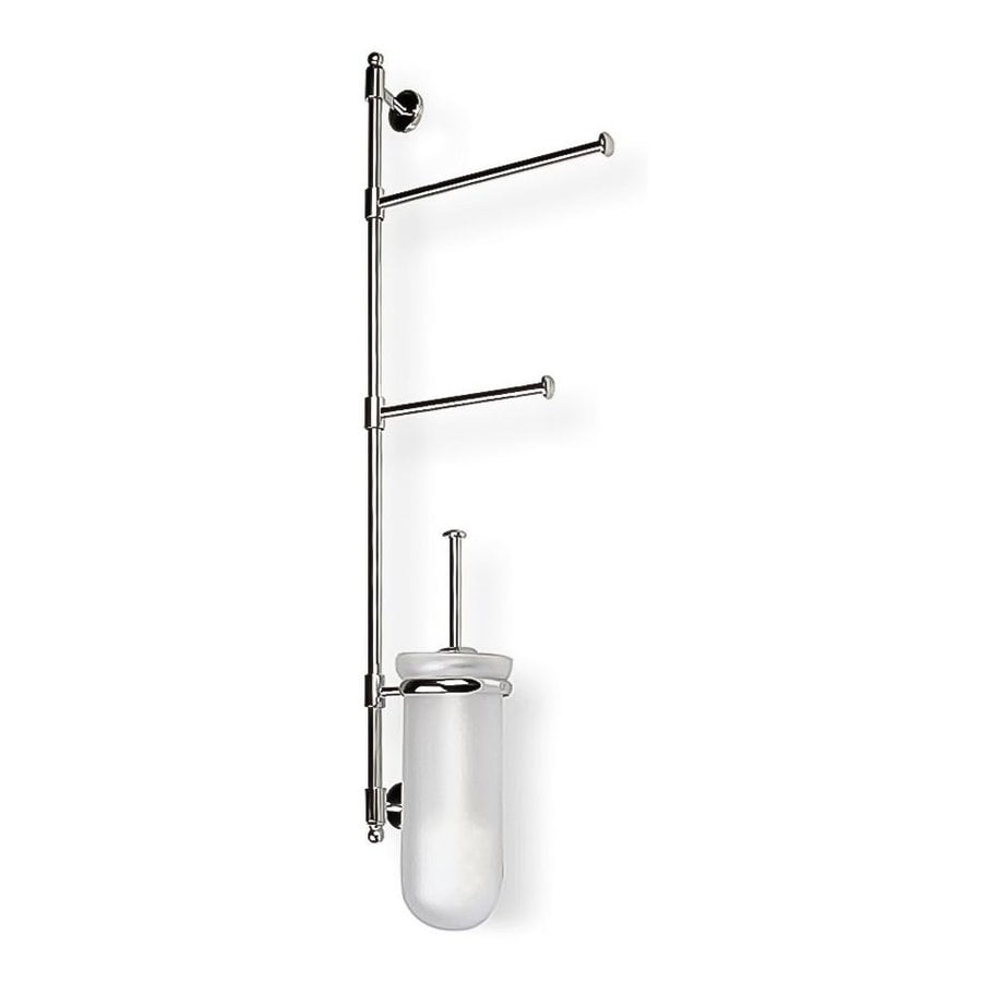 Nameeks Pegaso Chrome Brass Toilet Brush Holder