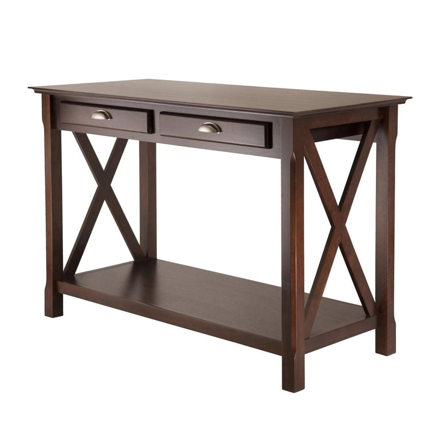 Winsome Wood Xola Cappuccino Console Table