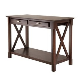 Winsome Wood Xola Cappuccino Composite Mission/Shaker Console Table