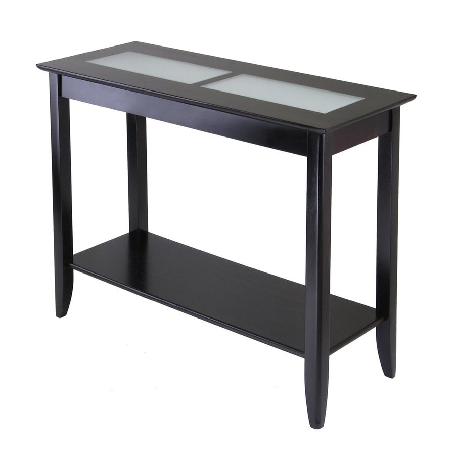 Winsome Wood Syrah Dark Espresso Rectangular Console Table