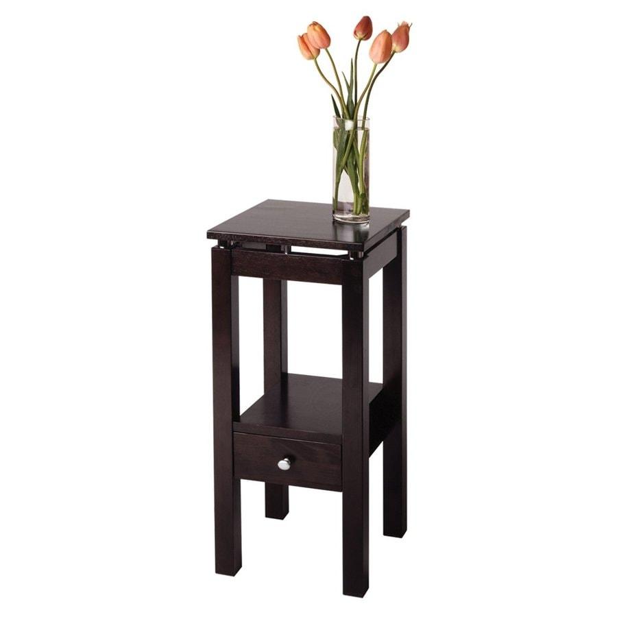 Winsome Wood Linea Dark Espresso (Composite) Square Console and Sofa Table