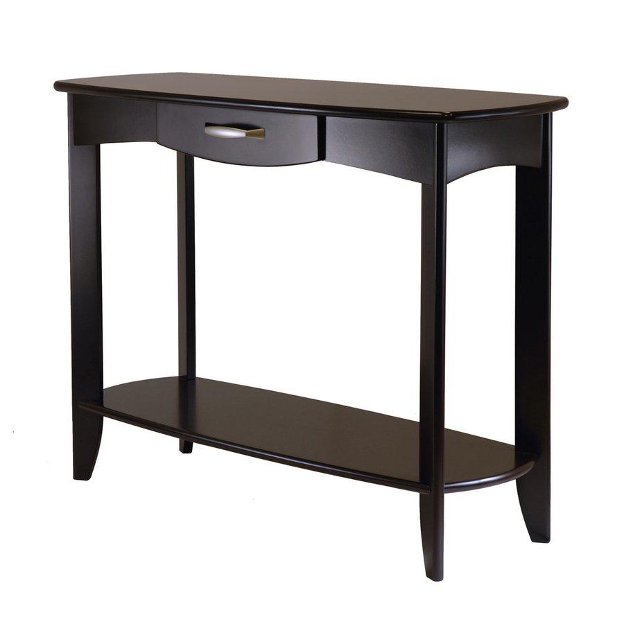 Winsome Wood Danica Dark Espresso Rectangular Console Table