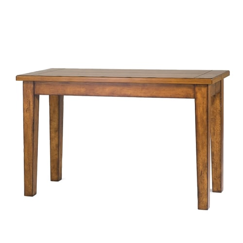 Magnussen Home Mackenzie Rustic Brown Rectangular Console And Sofa Table At Lowes