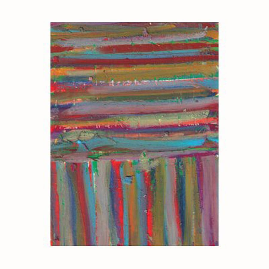 Cascadia 18-in W x 24-in H Frameless Canvas Stripes 3 Print Wall Art