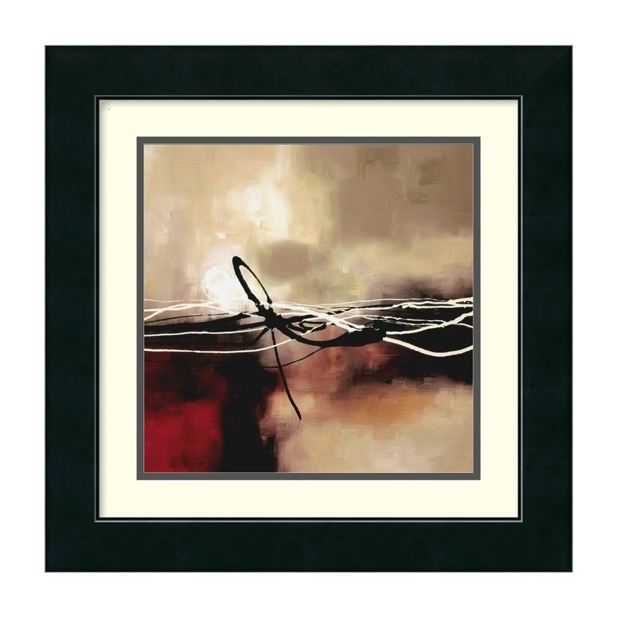 Amanti Art 17.49-in W x 17.49-in H Framed Paper Abstract Prints Wall Art