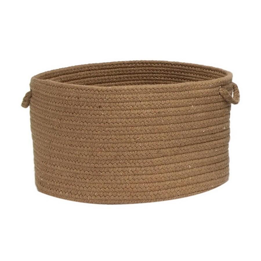 Colonial Mills 18-in W x 12-in H Alpaca Fabric Basket