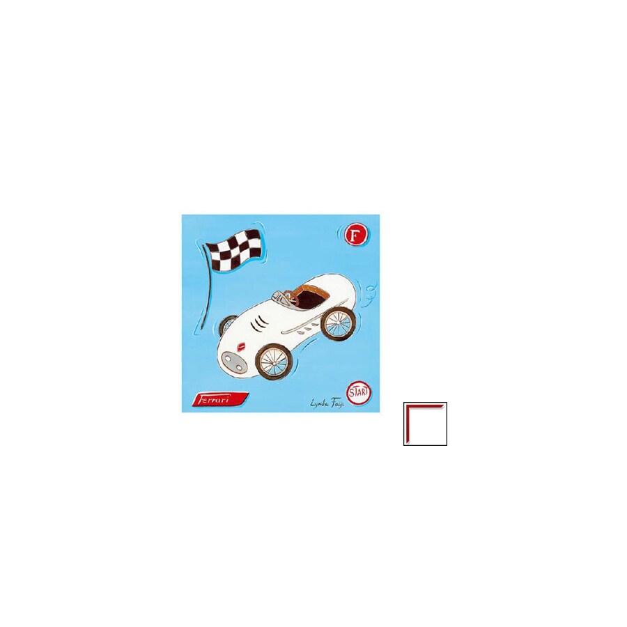Art 4 Kids 12-in W x 12-in H Automotive Framed Art