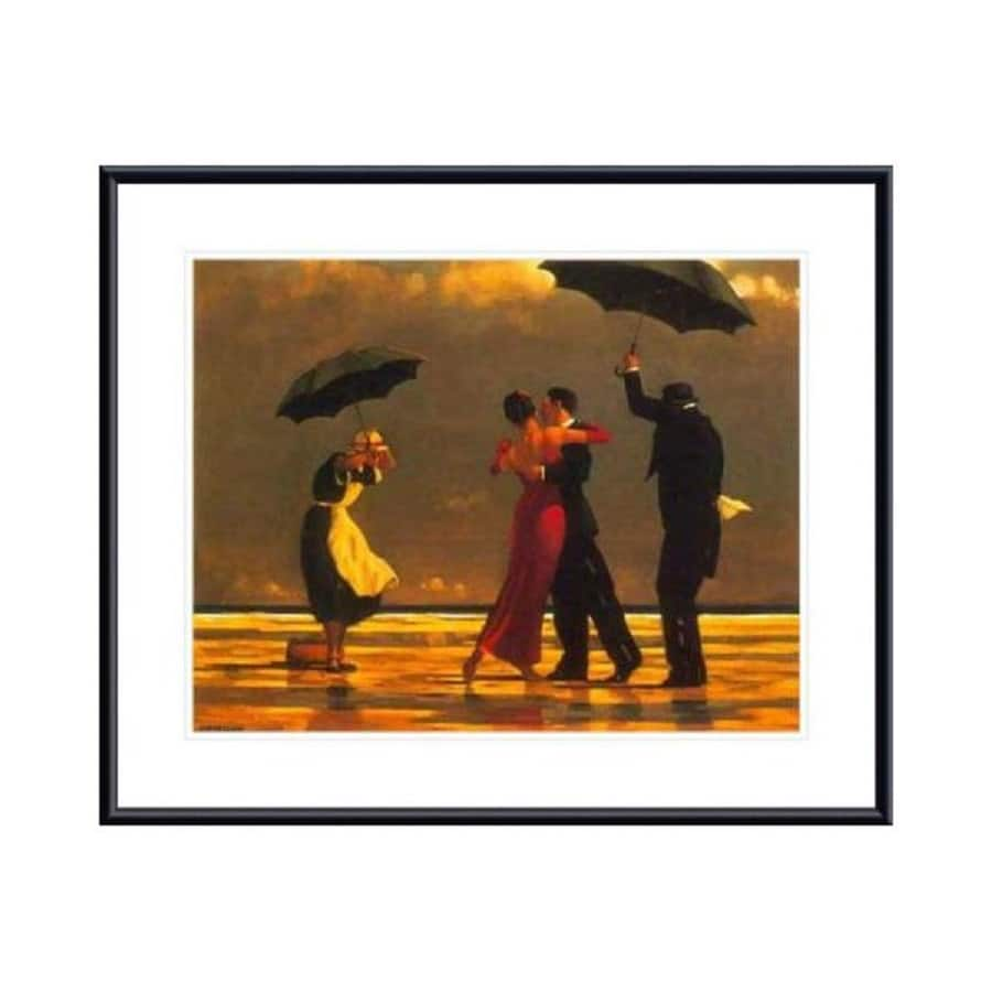 Printfinders 30.8-in W x 25.5-in H Framed Paper The Singing Butler Print Wall Art