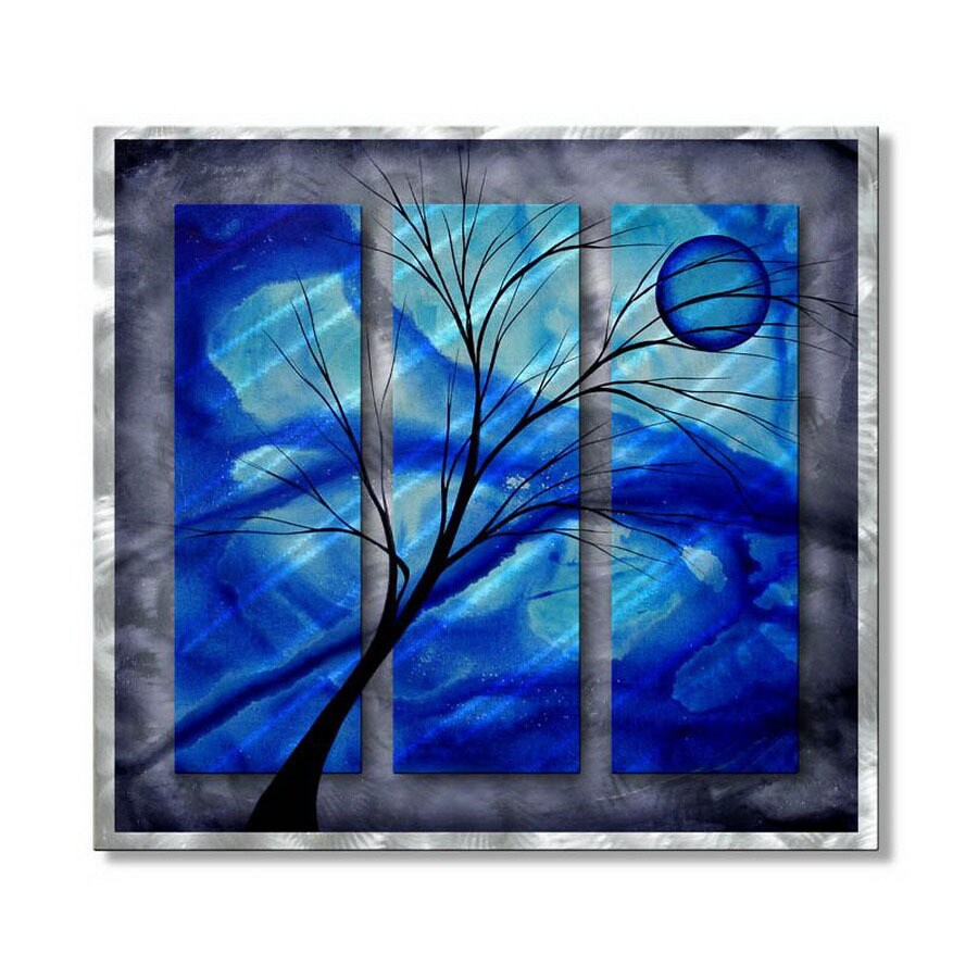 All My Walls 31 5 In W X 29 H Nature Metal Wall Art
