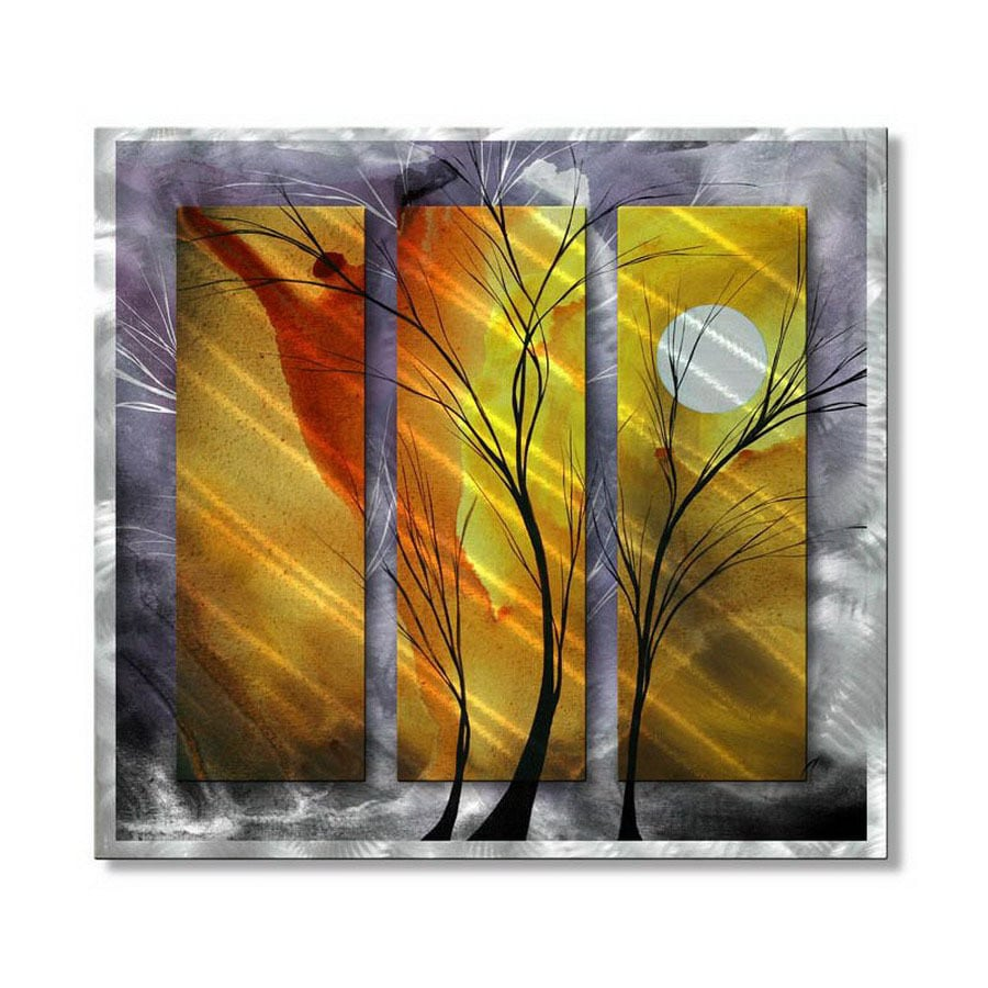 Shop All My Walls 31.5-in W x 29-in H Nature Metal Wall Art at Lowes.com