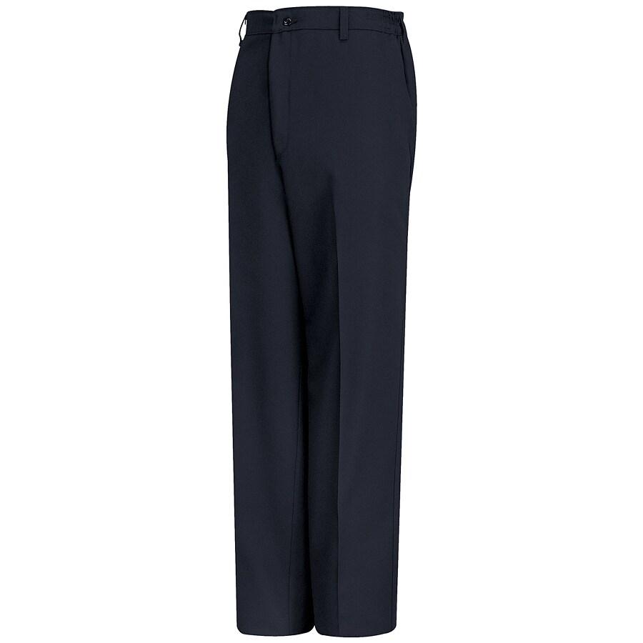 Red Kap Men's 28 x 34 Navy Twill Work Pants