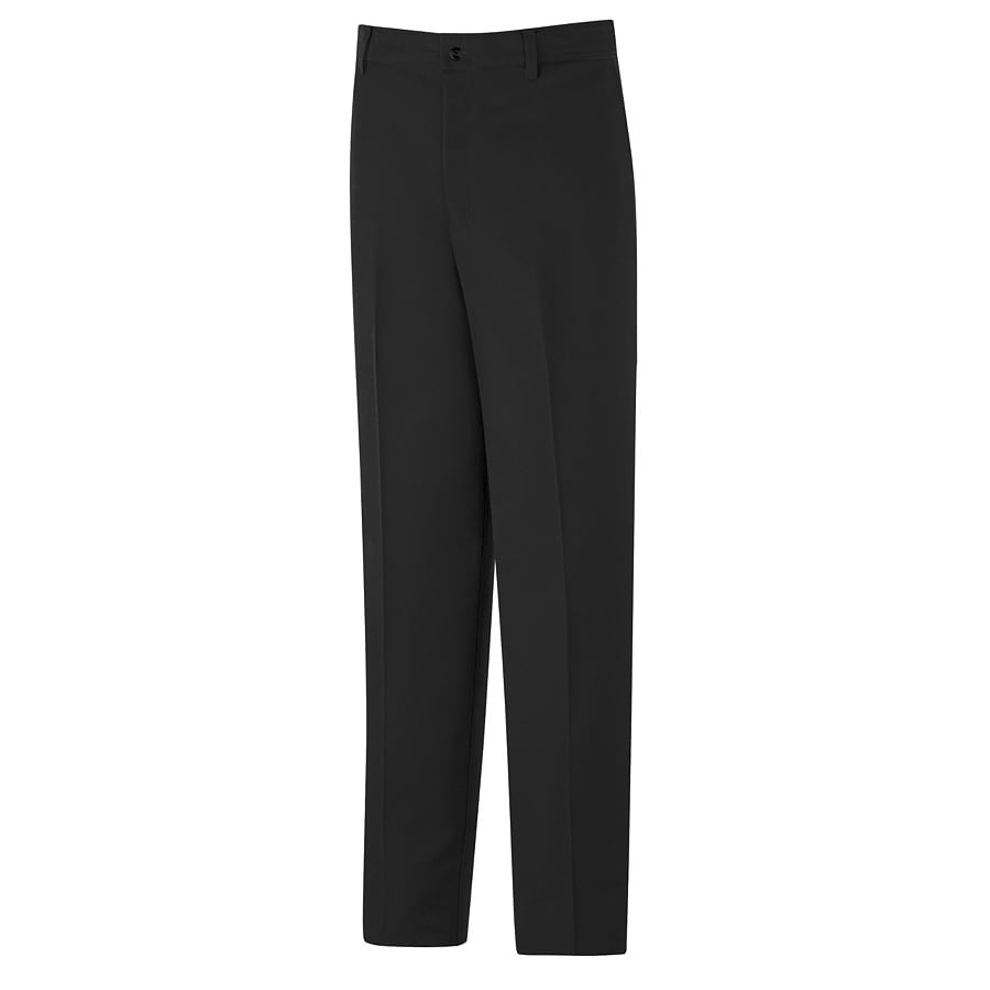 Red Kap Men's 52 x 34 Black Twill Work Pants
