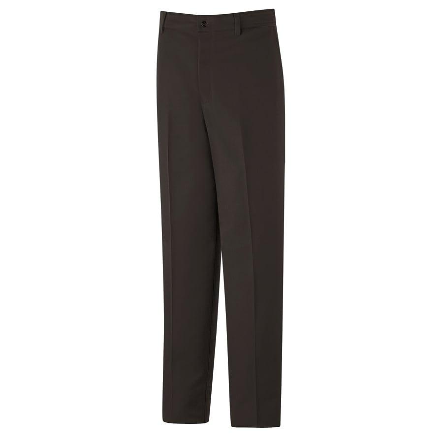 Red Kap Men's 28 x 32 Brown Twill Work Pants