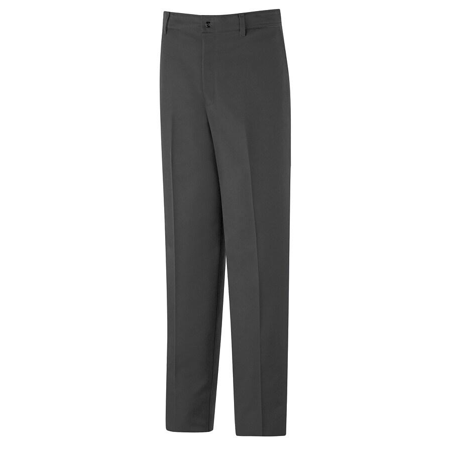 Red Kap Men's 46 x 34 Charcoal Twill Work Pants