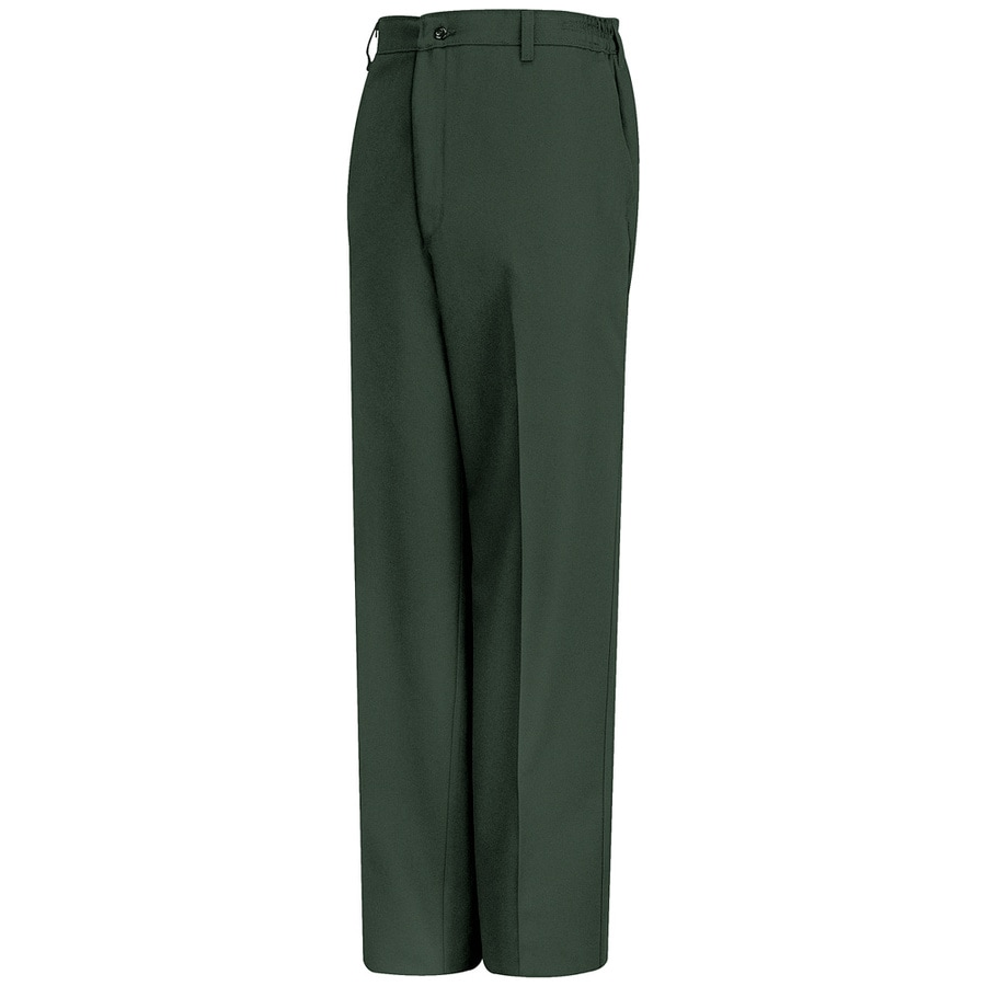 Red Kap Men's 32 x 32 Spruce Green Twill Work Pants