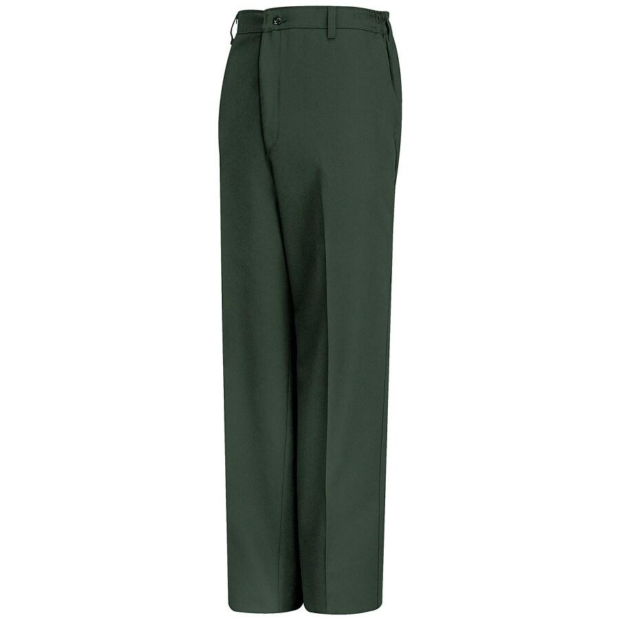 Red Kap Men's 42 x 34 Spruce Green Twill Work Pants
