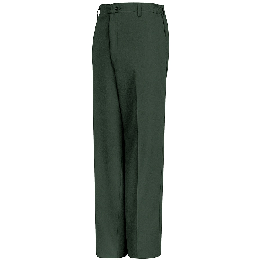 Red Kap Men's 52 x 32 Spruce Green Twill Work Pants